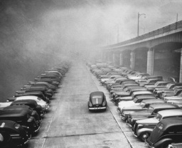 Smog in Pittsburgh, 1945